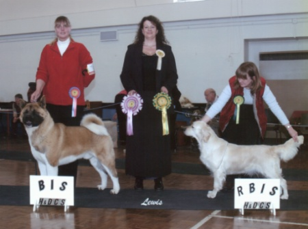Nosam Mystique In Blue Reserve Best In Show